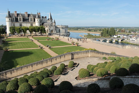 gardens of the Chateau d'Amboise