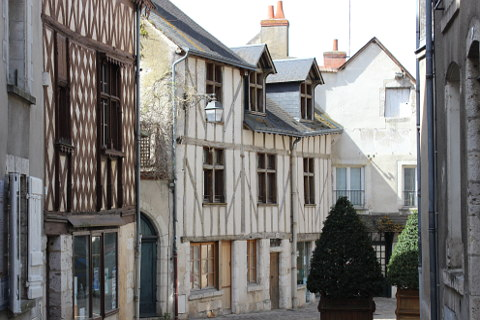 Old town of Blois
