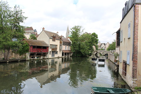 River Eure in Chartres