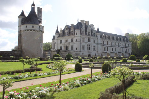 gardens of Chateau Chenonceau