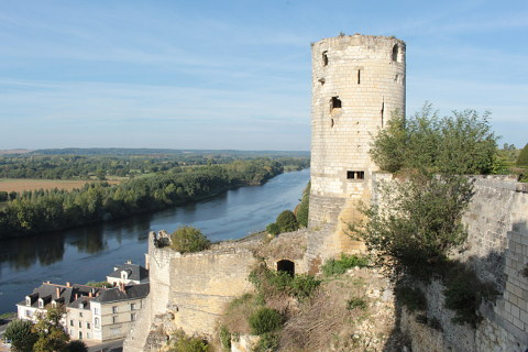 La Tour de Moulin du Chateau de Chinon